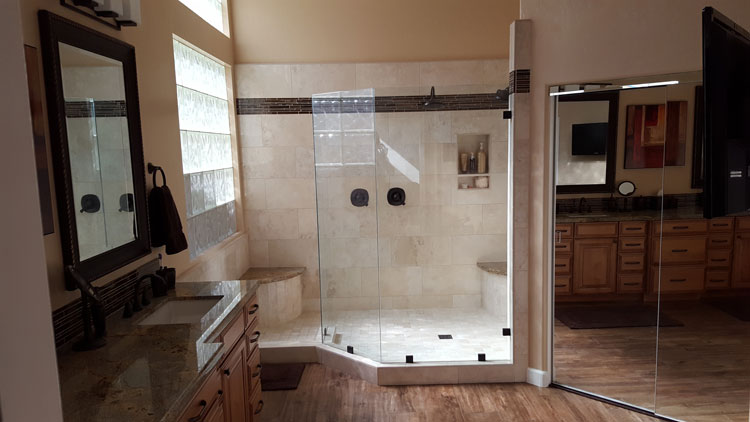 Bath Remodel in Phoenix home master shower
