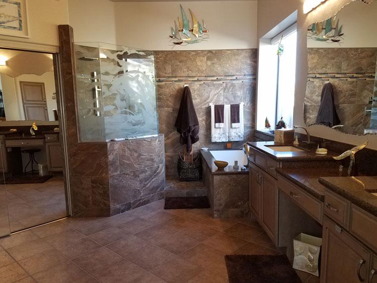 Custom Bathroom in Scottsdale